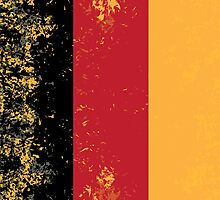 Flag of Germany by quark