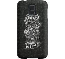 One of a kind (white) Samsung Galaxy Case/Skin