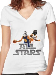 KG Women's Fitted V-Neck T-Shirt