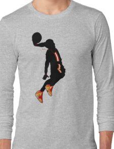 lebron james dunk t-shirt Long Sleeve T-Shirt