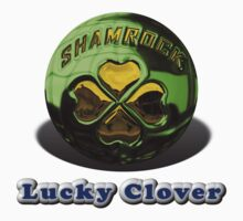 Lucky Clover Premium T-Shirt and Stickers by nhk999