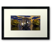New Age Groovy Spa Framed Print