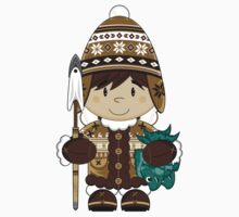 Cute Inuit Boy Kids Clothes