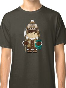 Cute Inuit Boy Classic T-Shirt