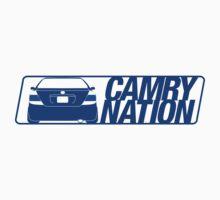 Camry Nation - Gen 5 Blue Alternate by Jordan Bezugly