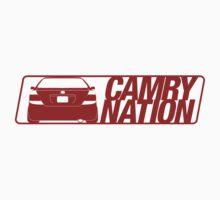 Camry Nation - Gen 5 Red Alternate by Jordan Bezugly