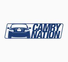 Camry Nation - Gen 6 Blue Alternate by Jordan Bezugly