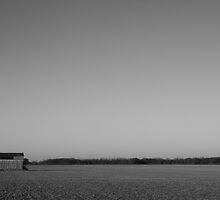 Indiana Farm in Winter by Kent Nickell