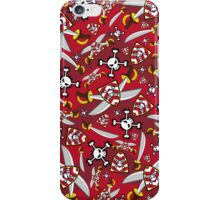 Pirate Swords & Shields iPhone Case/Skin