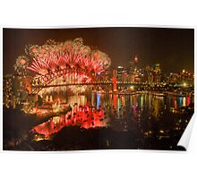 What Was Old Is New Again - Sydney New Years Eve  Poster