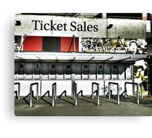 Ticket Sales  Canvas Print
