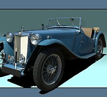 1946 MG TC Roadster by TeeMack