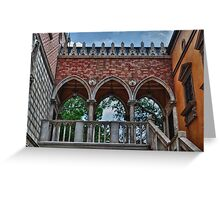 Italy Pavilion-Epcot Greeting Card