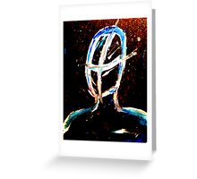 Oblivion Painting Greeting Card