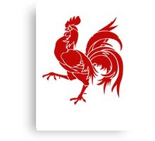 Wallonia Rooster Sigil Canvas Print