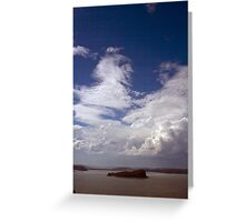 Lion Sky Greeting Card