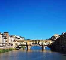 Ponte Vecchio by Jane Ruttkayova