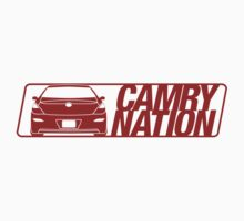 Camry Nation - Solara Gen 2 Red Alternate by Jordan Bezugly