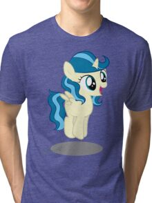 Bounce filly Tina fountain Heart Tri-blend T-Shirt