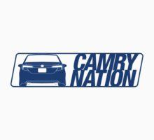 Camry Nation - Gen 7 Blue Alternate by Jordan Bezugly