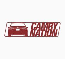 Camry Nation - Gen 7 Red Alternate by Jordan Bezugly