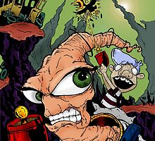 Earthworm Jim by TypH