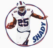 Shady Mccoy - Buffalo Bills One Piece - Short Sleeve