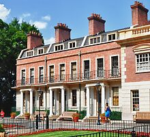 England Row Houses @ Epcot by Gwilanne Carlos