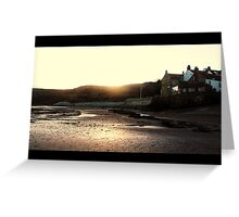 Sun On Sand Greeting Card