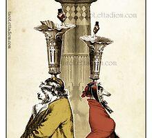 The Major Arcana - The Tower by TheIsidoreTarot