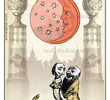 The Major Arcana - The Moon by TheIsidoreTarot
