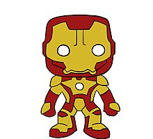 Iron Man Suit Sticker by rwang