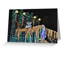 Hitchhiking Ghost @ Boo to You Parade Greeting Card