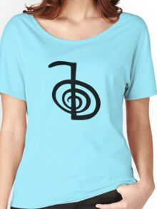 reiki  symbol labyrinth Women's Relaxed Fit T-Shirt