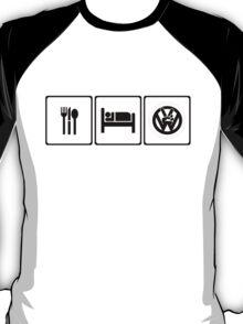 Eat Sleep VW T-Shirt