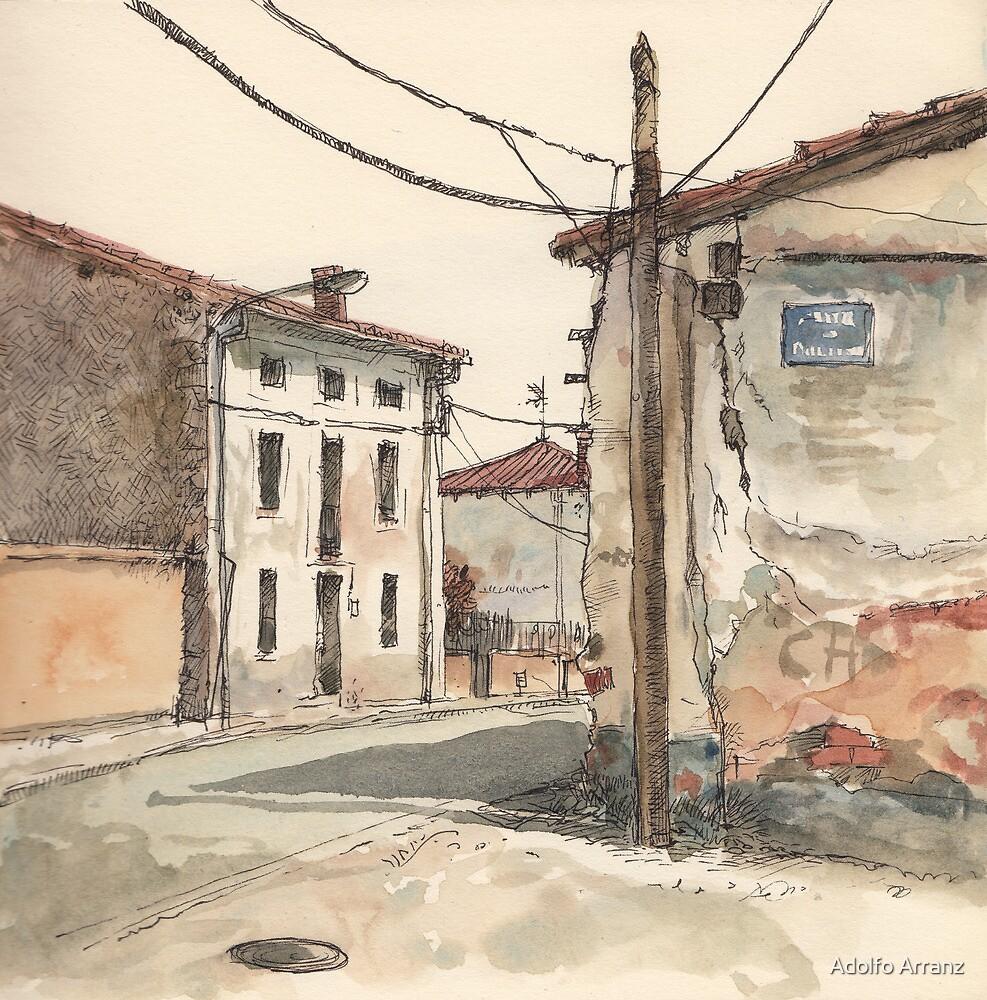 Casas en la carretera by Adolfo Arranz