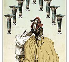 The Minor Arcana - Nine of Cups by TheIsidoreTarot