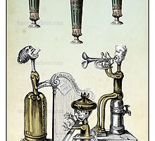 The Minor Arcana - Three of Cups by TheIsidoreTarot