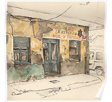 Bar La Asturiana Poster
