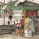 Swatow street, Wan Chai by Adolfo Arranz