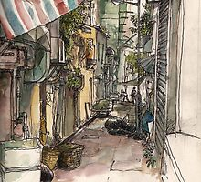 Sketching Hong Kong by Adolfo Arranz