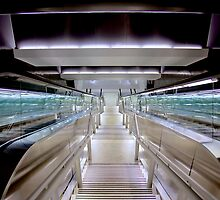 Airport Passageway by njordphoto