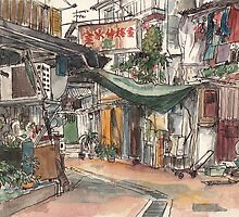 Wang Street, Sai Kung by Adolfo Arranz