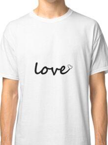 Love Classic T-Shirt