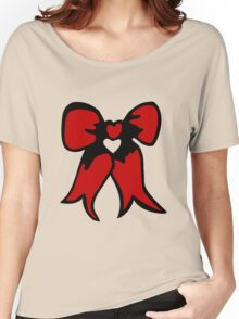 ribbon bow  bowtie Women's Relaxed Fit T-Shirt