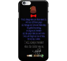Matt's Final Words iPhone Case/Skin