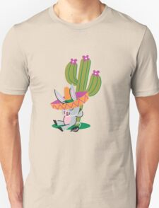 Donkey And The Cactus!!! T-Shirt