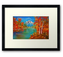 Middle of  Autumn  Framed Print