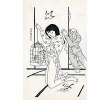 Toshio Saeki - Artwork Photographic Print