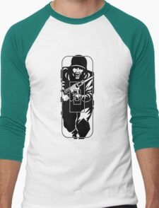 Figure 11 Military Gun Range Target Men's Baseball ¾ T-Shirt